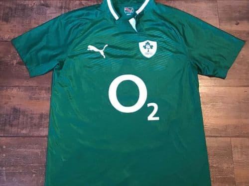 2011 2012 Ireland Rugby Union Shirt Large Jersey