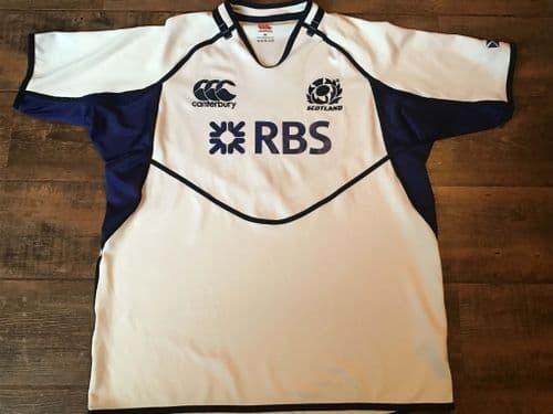 2011 2012 Scotland Pro Away Rugby Union Shirt 2XL XXL
