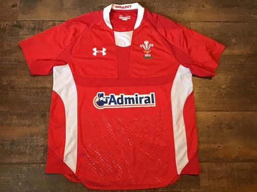 2011 2012 Wales Home Rugby Union Shirt Medium