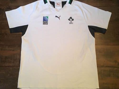 2011 Ireland World Cup Player Rugby Union Away Shirt 3XL XXXL