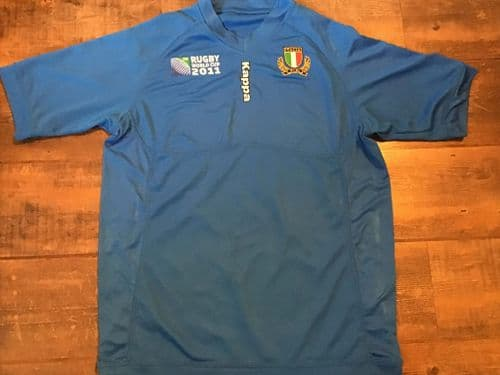 2011 Italy World Cup Rugby Union Shirt 2XL