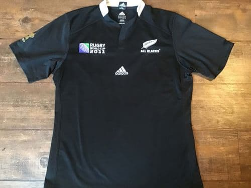 2011 New Zealand World Cup Rugby Shirt Large