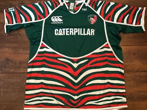 2012 2013 Leicester Tigers BNWT Rugby Union Pro Shirt 3XL