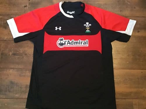 2012 2013 Wales Rugby Union Training Shirt Large