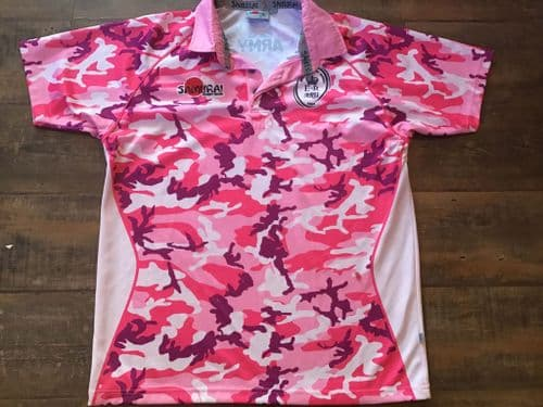 2012 British Army Pink Camo Rugby Union Shirt XL