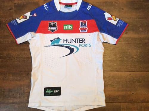 2012 Newcastle Knights Player Issue Rugby League Shirt Medium