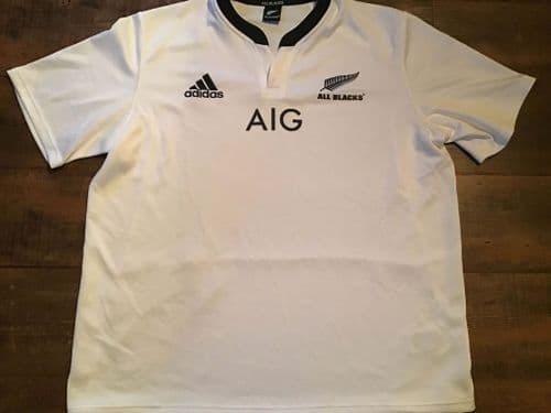 2013 2014 New Zealand Rugby Union Away Shirt 2XL