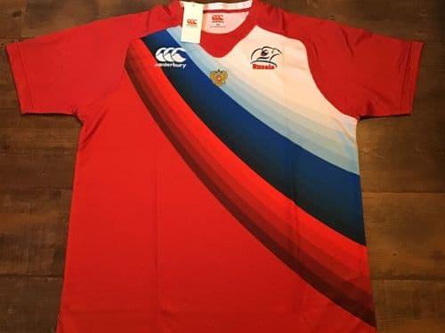 2013 2014 Russia BNWT New 7s Rugby Union Shirt 2XL XXL