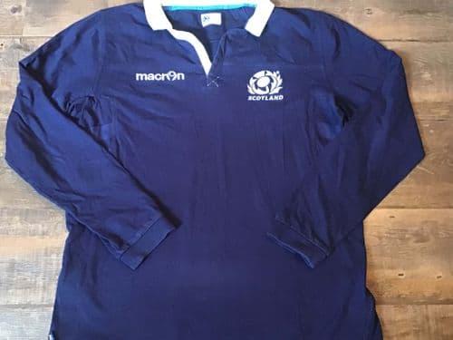 2013 2014 Scotland Rugby Union Supporters Shirt XXL 2XL