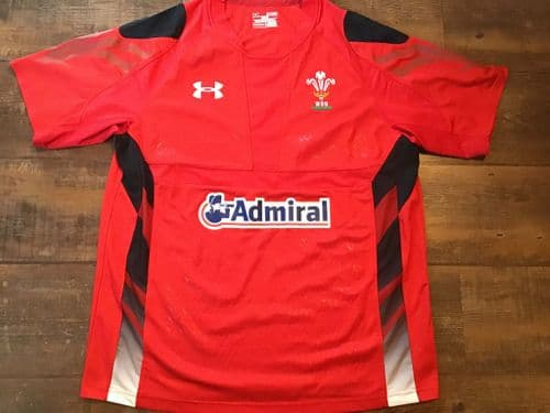 2013 2014 Wales Home Rugby Union Home Shirt XL