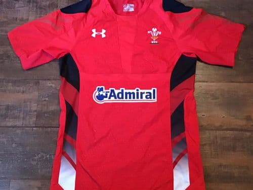 2013 2014 Wales Home Rugby Union Shirt 2XL