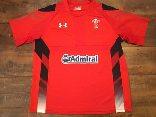 2013 2014 Wales Home Rugby Union Shirt Adults XL
