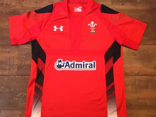 2013 2014 Wales Home Rugby Union Shirt Medium