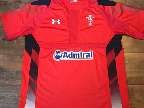 2013 2014 Wales Home Rugby Union Shirt XL