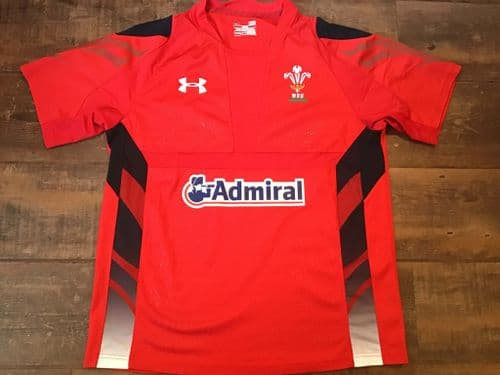 2013 2014 Wales Rugby Union Shirt Large