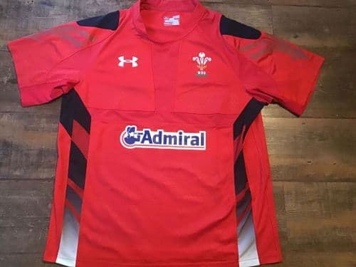 2013 2014 Wales S/s Home Rugby Union Shirt Adults XL