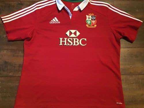 2013 British and Irish Lions Rugby Shirt 2XL