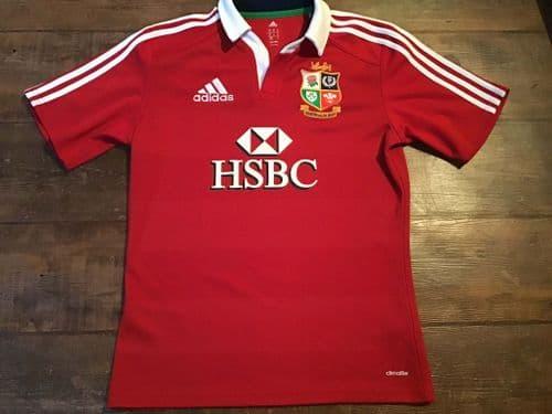 2013 British & Irish Lions S/s Rugby Union Shirt Adults Medium