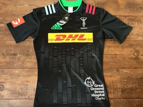 2015 2016 Harlequins BNWT Big Game 8 Rugby Union Shirt Small