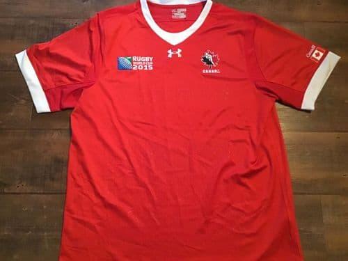 2015 Canada World Cup Rugby Union Shirt 3XL