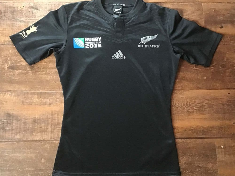 2015 New Zealand World Cup Rugby Union Shirt Small