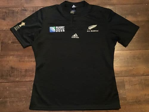 2015 New Zealand World Cup Winners Rugby Union Shirt XL