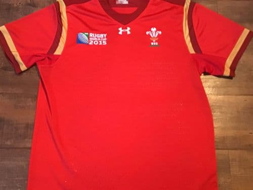 2015 Wales World Cup Rugby Union Shirt XL