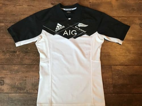 2016 2017 New Zealand Rugby Union Away Shirt Small