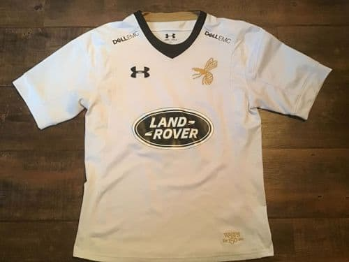 2017 2018 Wasps 150th Anniversary Away Rugby Shirt Small