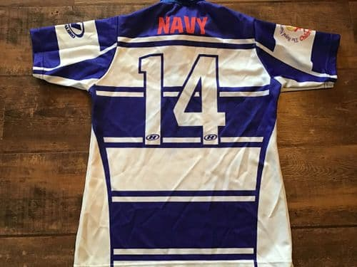 Royal Navy Rugby League Player No 14  Medium XS