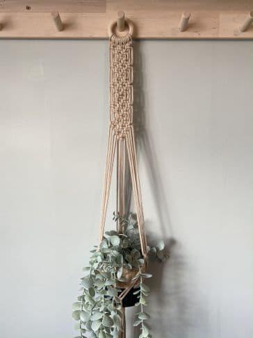 Macrame Plant Hanger (Linen)