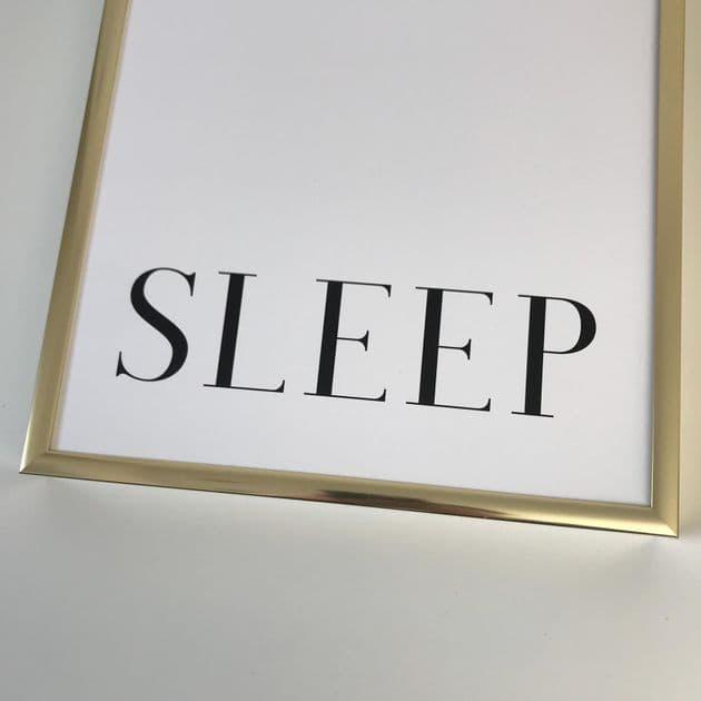 Sleep (A4 monochrome)