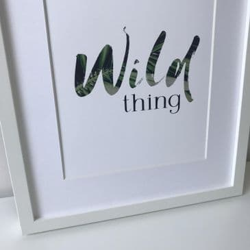 Wild thing (A4 print)