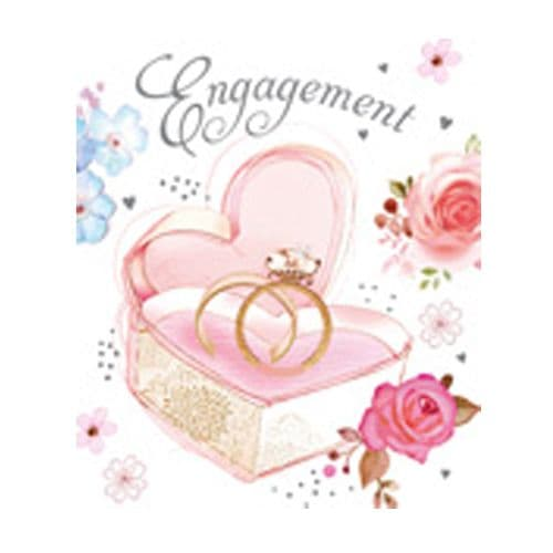 'Engagement' Gift Wrap Paper