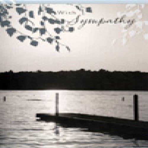 'With Sympathy' Card by Hambledon Studios
