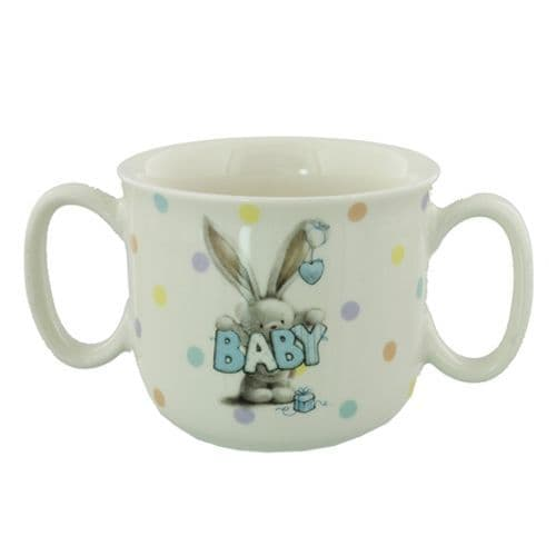 Bebunni Twin Handle Ceramic Baby Mug
