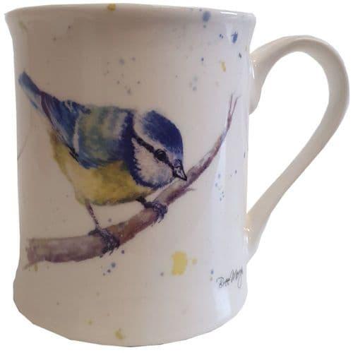 Betty the Blue Tit Mug by Bree Merryn