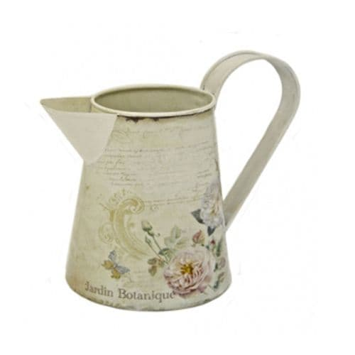 Botanique Design Metal Ornamental Jug