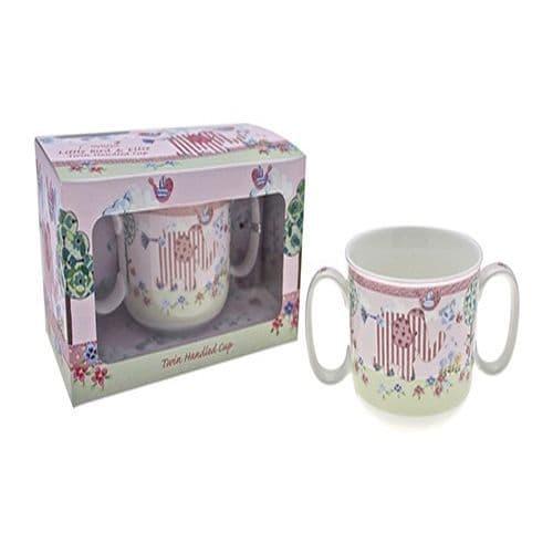 Cavania Little Bird & Ellie Twin Handle Mug