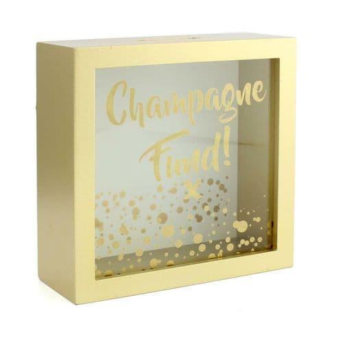Champagne Fund Money Box