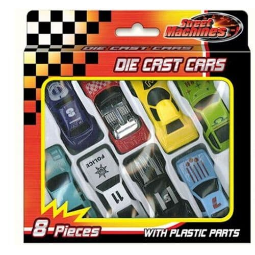 Collection of Small Diecast Cars