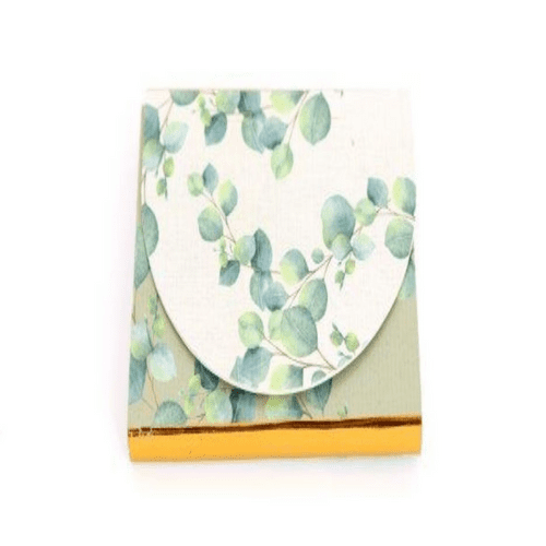 Eucalyptus Small Notepad with Magnetic Closure