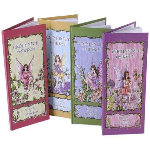 Fairy Design Enchanted Garden Telephone & Address Book