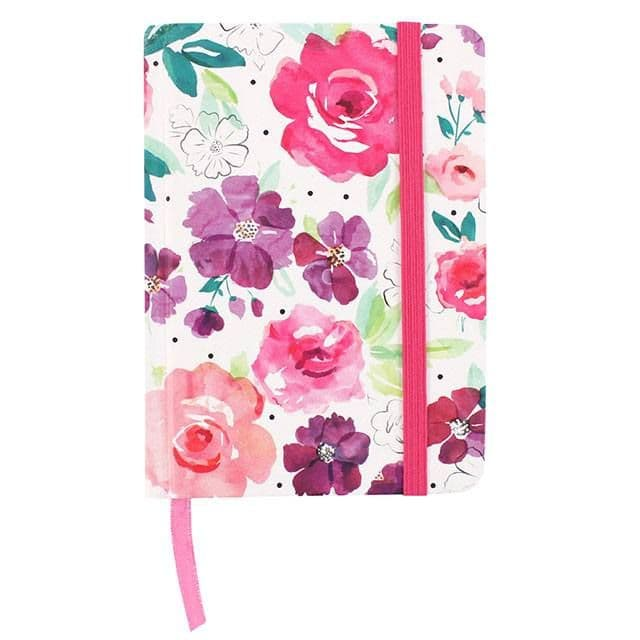 Floral Fusion A6 Notebook