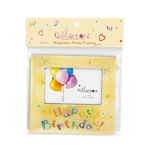 Happy Birthday Magnetic Photo Frame