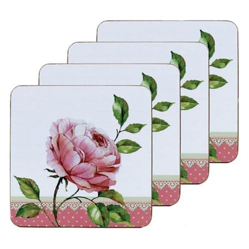 Heart Rose Coasters from The Leonardo Collection