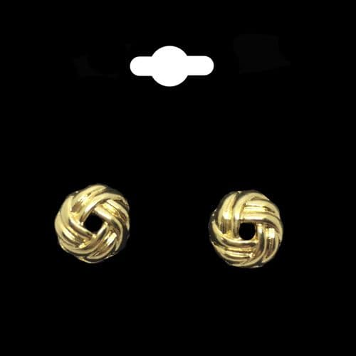 Love Knot 18K Gold Plated Earrings