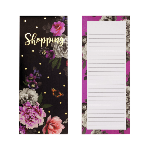 Midnight Blue Magnetic Shopping List Pad