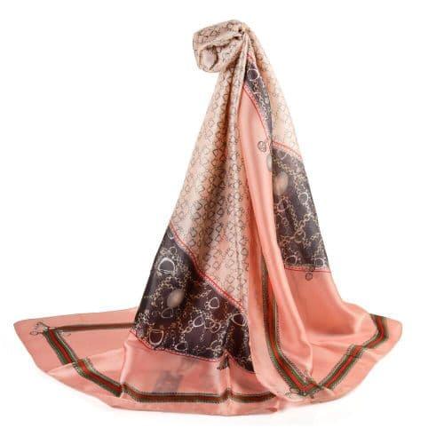Pink Designer Inspired Scarf