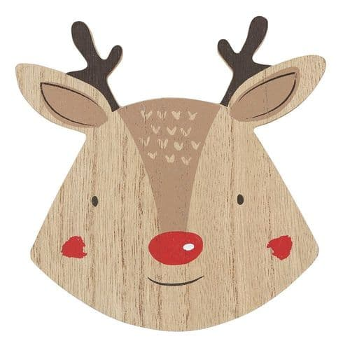 Set Of Four Reindeer Design Coasters